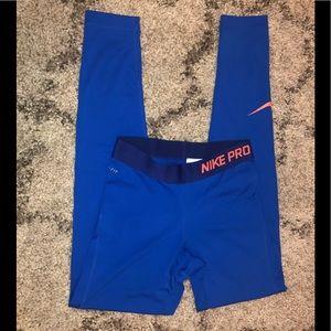 Nike Pro ankle length leggings